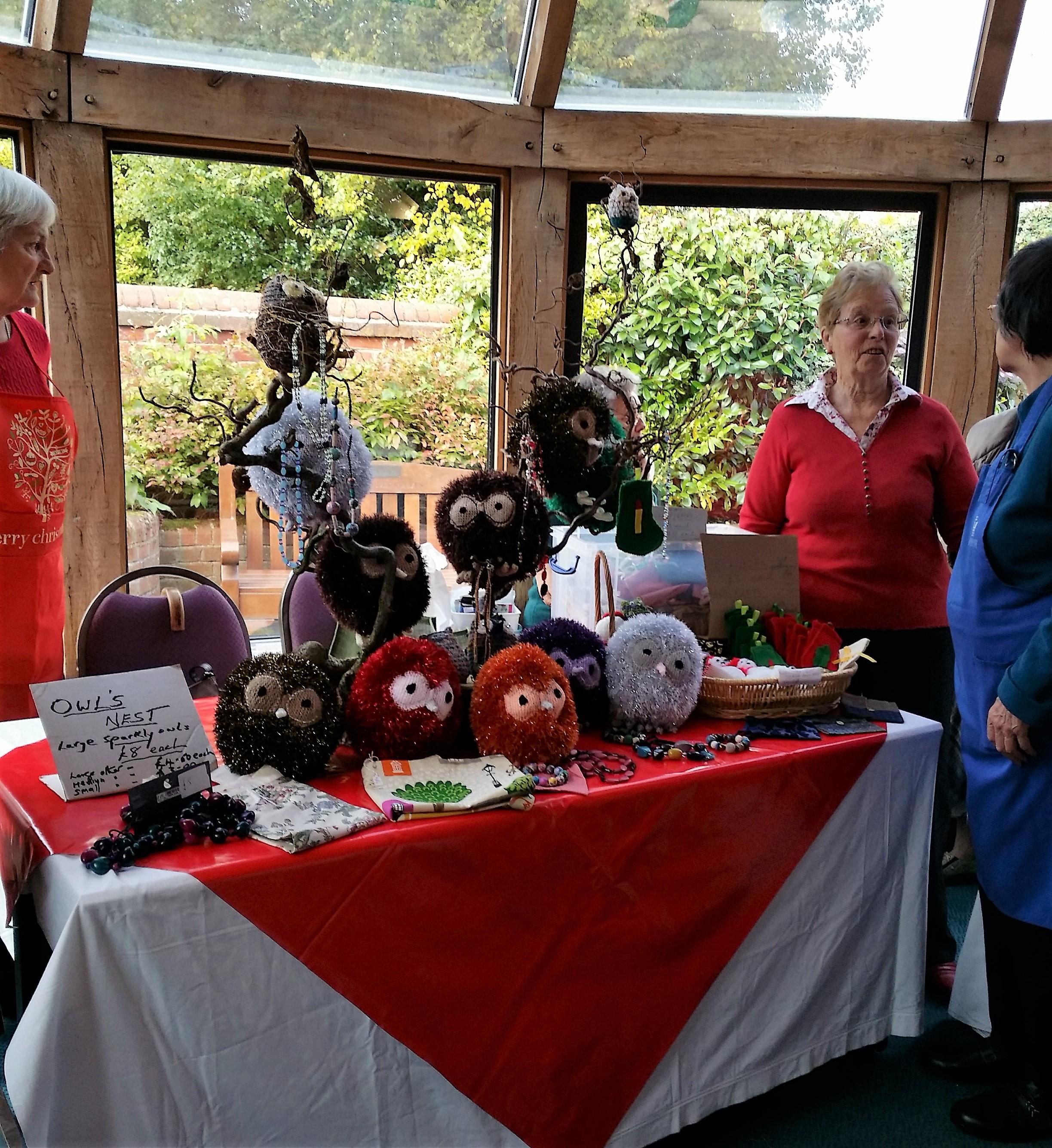 Busy Bee stall at Annual Autumn Fair
