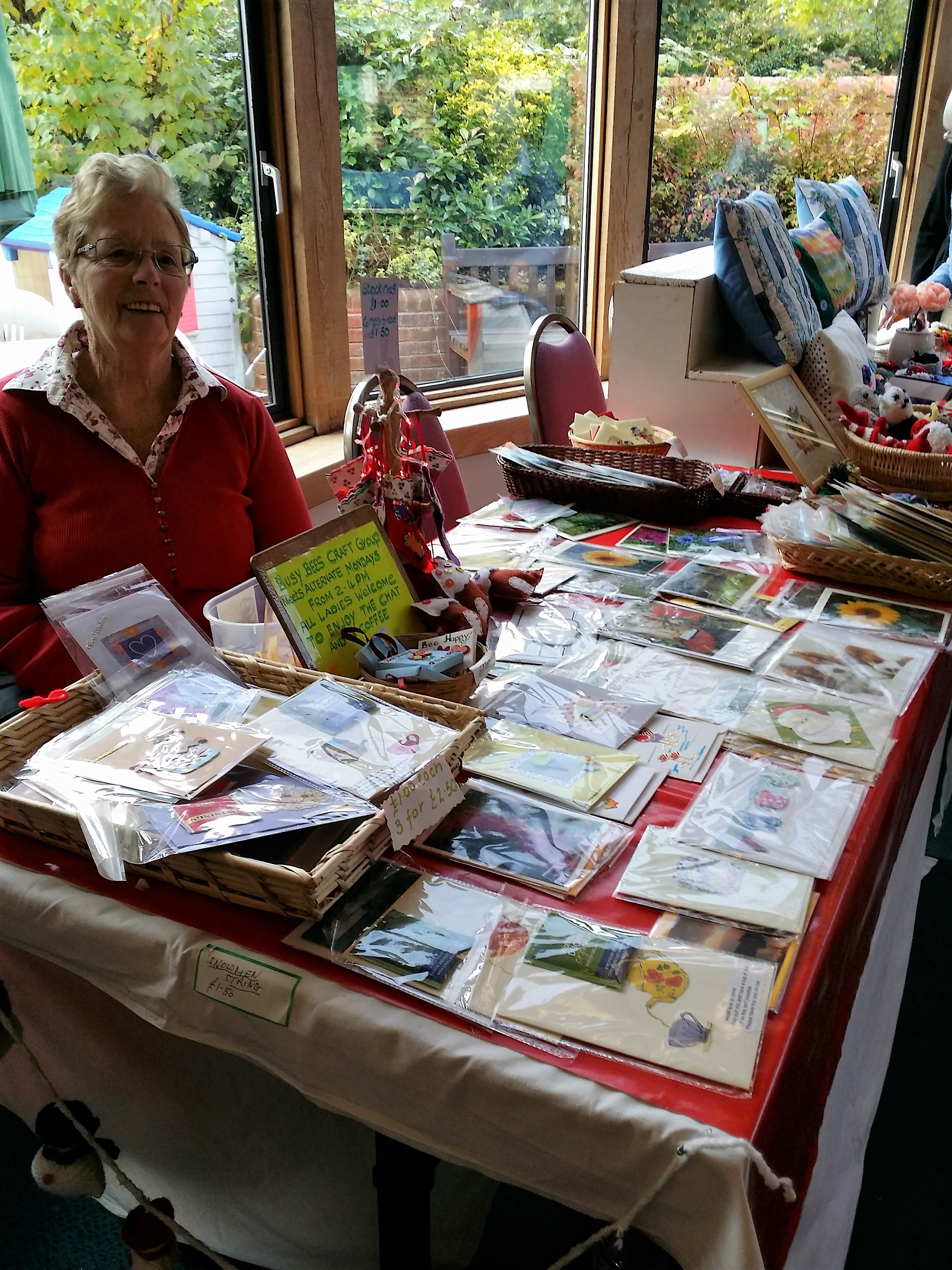 Hilda and her beautiful and original cards