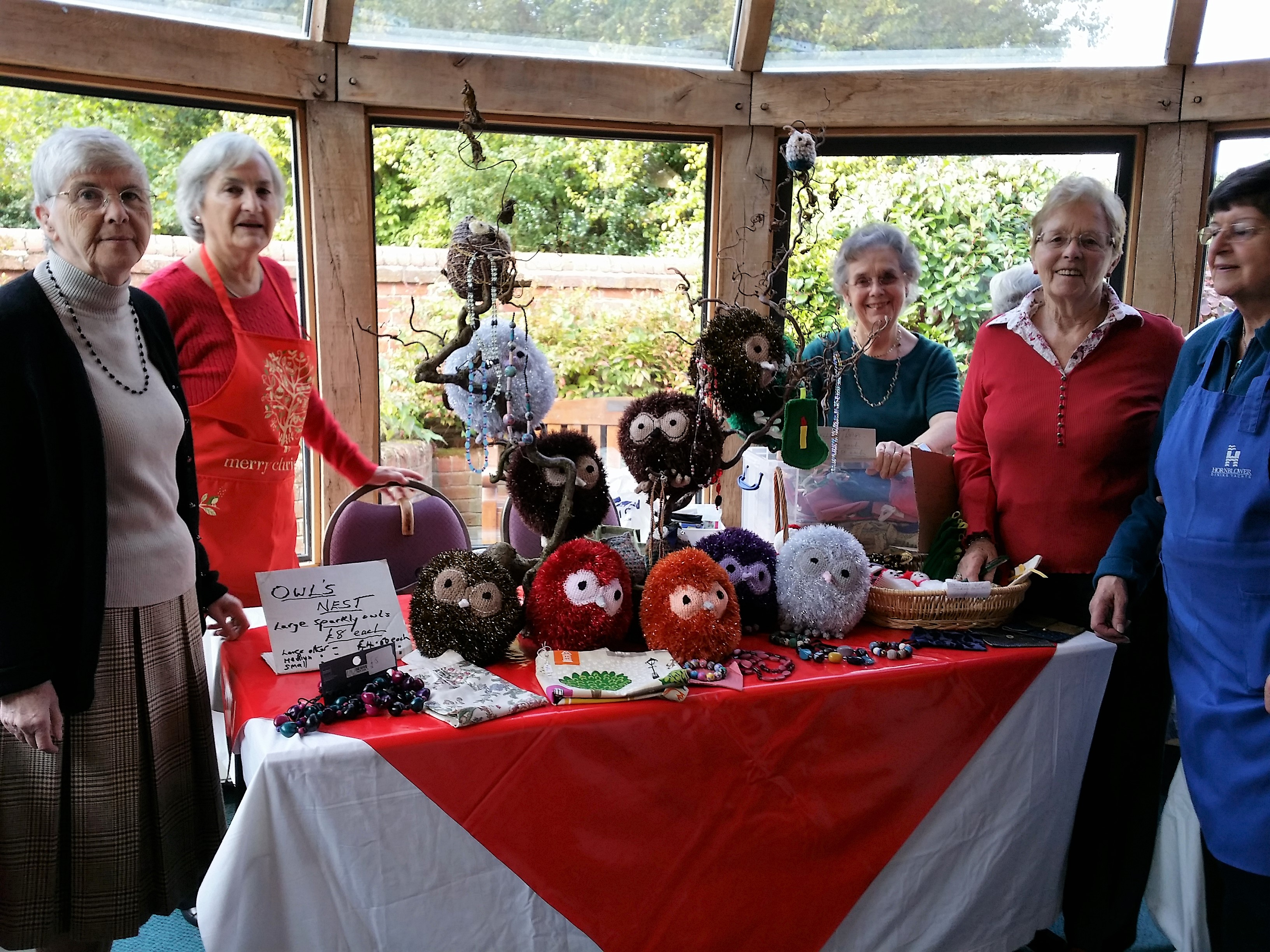 Some of our highy skilled Busy Bee crafters