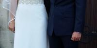 Beautiful bride Debbie Flood now Jaco Bruwers wife
