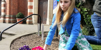 Easter-Garden-girl-planting-flowers-