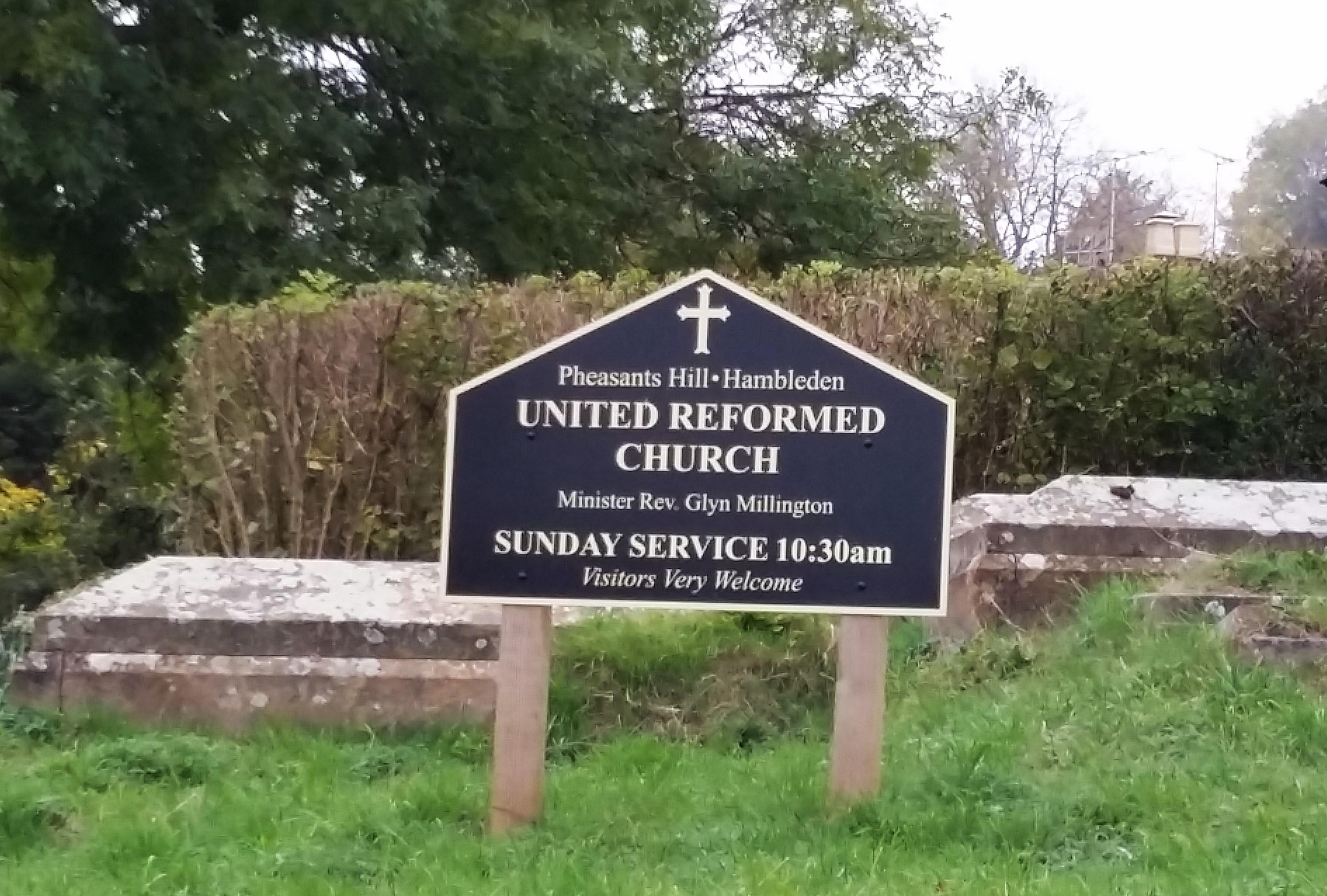 Pheasants hill church notice