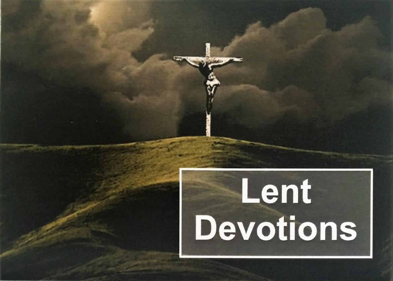 2017 Lent devotions