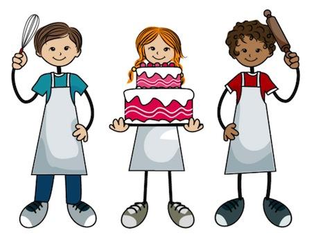 baking cakes kids