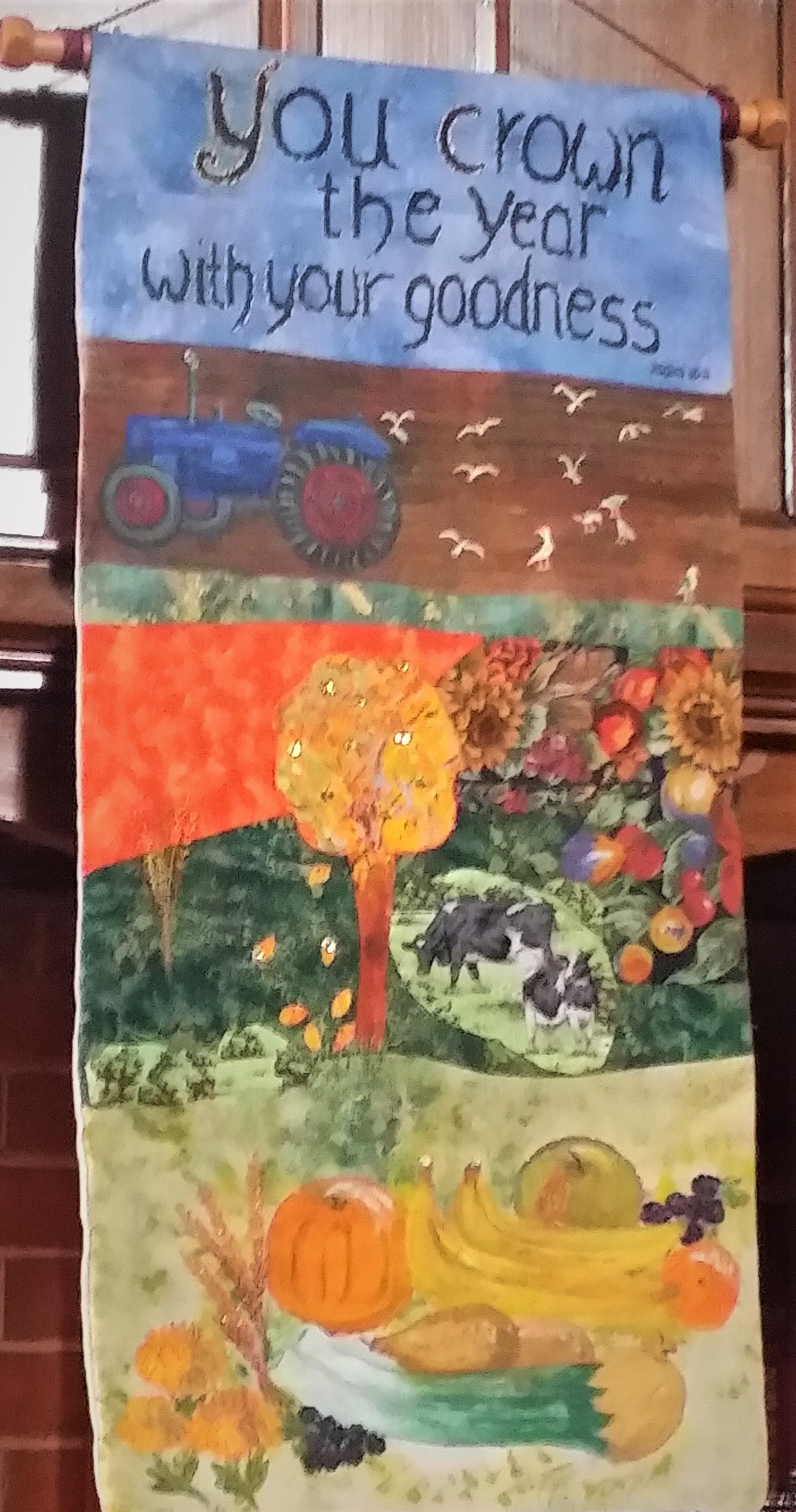 2017-09-17 Harvest banner by Busy Bees