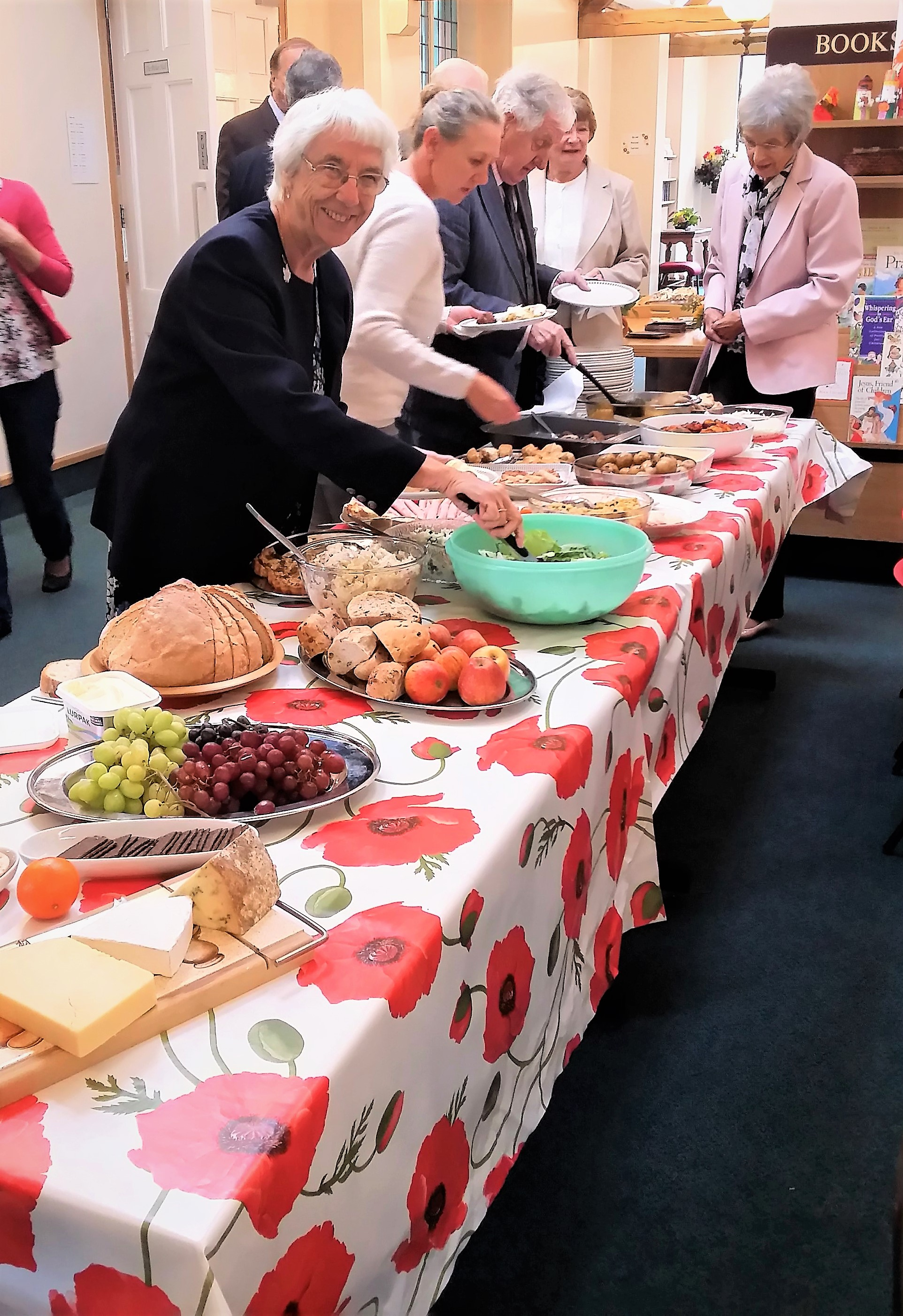 2017-09-17 Harvest lunch